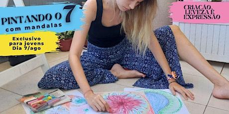 Pintando o 7 com Mandala - Exclusivo para jovem billets