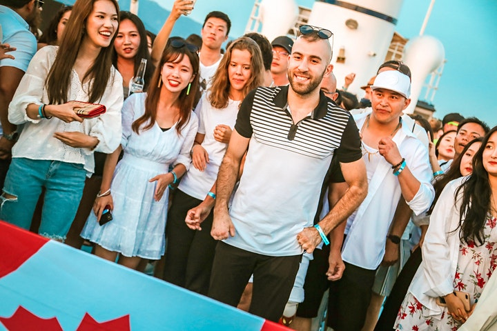 White Boat Party by Vancouver Student Events image