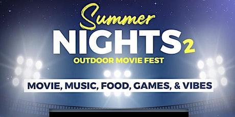 SUMMER NIGHTS - OUTDOOR MOVIE FEST. PT.2 tickets