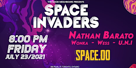 Space Invaders at Space.00 tickets