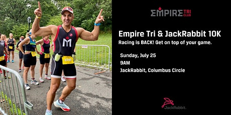Empire Tri & JackRabbit 10K tickets