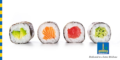Sushi Making Demonstration with Nutrition Australia - 12pm Session tickets