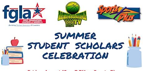 Summer Student Scholars Celebration tickets