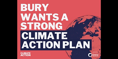 Bury Council Climate Strategy consultation event tickets
