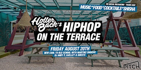 Holler Back's HipHop Summer Terrace Party tickets