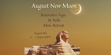 August New Moon Restorative Yoga and Reiki Mini-Retreat tickets