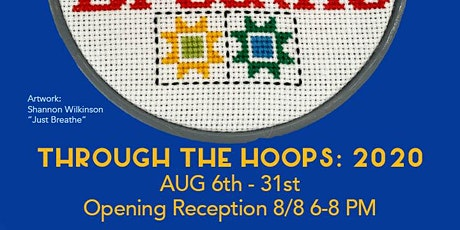 Through The Hoops: 2020  Opening Reception tickets
