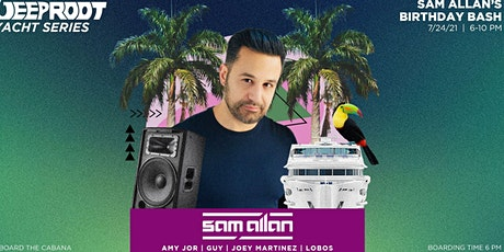 #1 NYC  Boat Party Yacht Cruise    Sam Allan's Birthday July 24th tickets