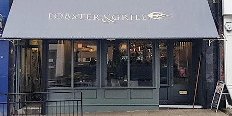 Garden Restaurant Dinner:3 Course Meal, Live DJ Soul Music @Lobster & Grill tickets