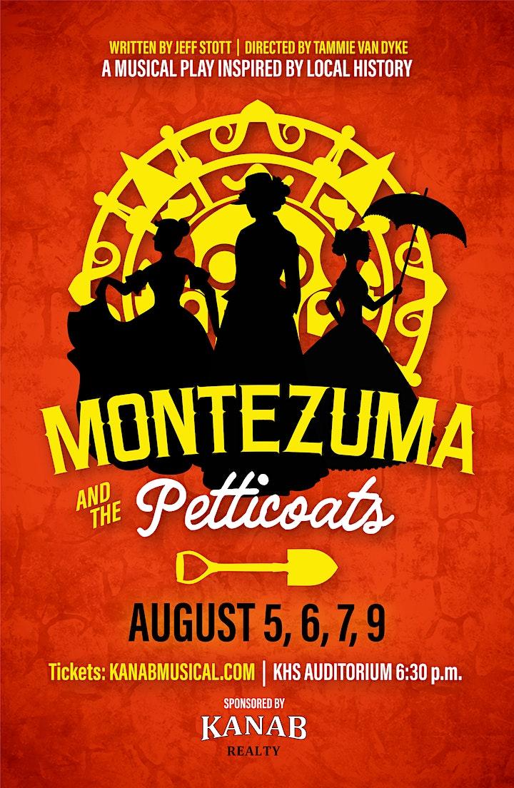 Montezuma and the Petticoats | August 5-9 image