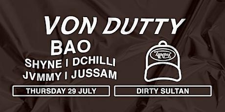 """Von Dutty Launch Party """"F*CK THEM"""" tickets"""
