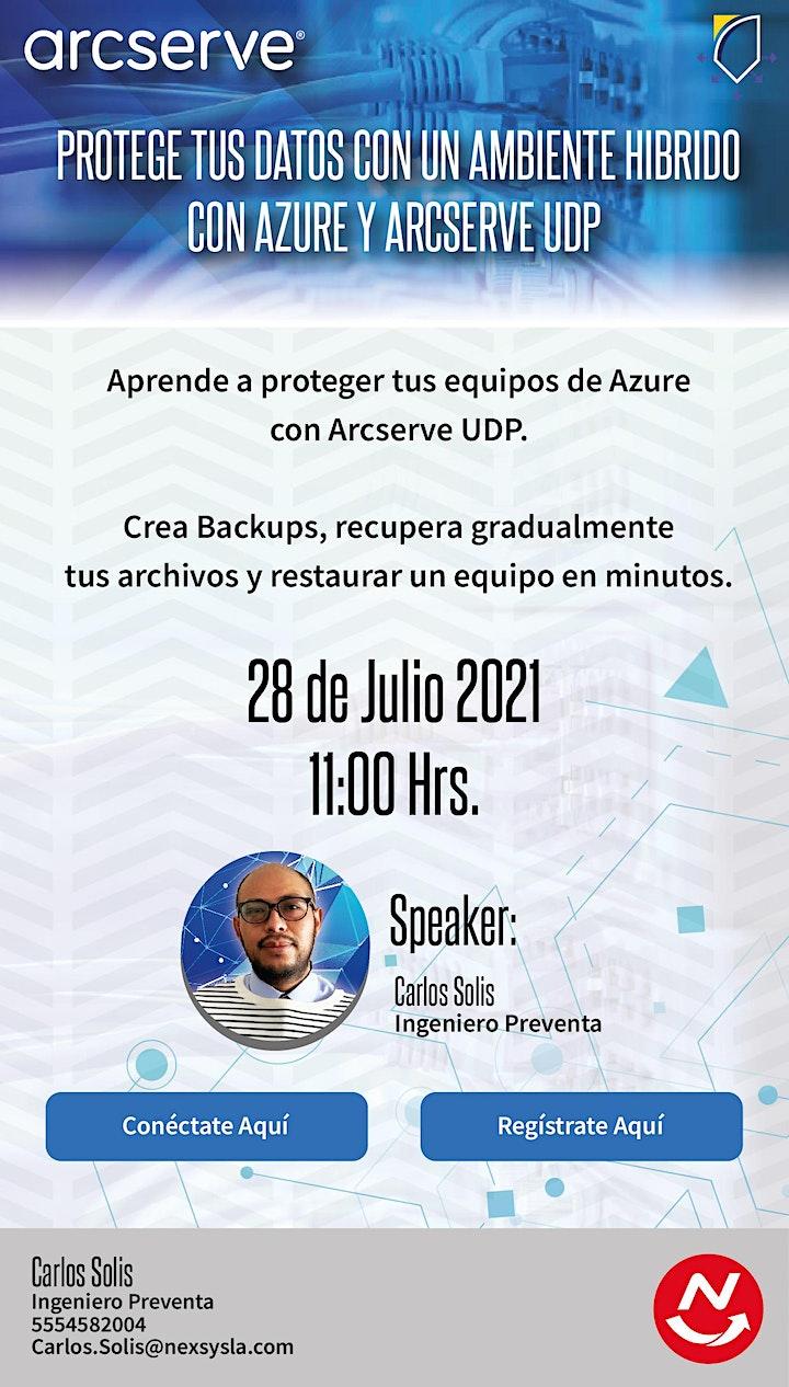 Imagen de Protege tus datos con un Ambiente hibrido con Azure y Arcserve UDP