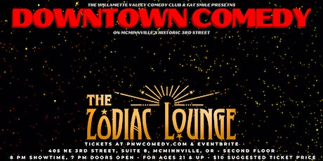 Downtown Comedy w/ Andrew Sleighter (Conan, Dry Bar) & More in McMinnville! tickets