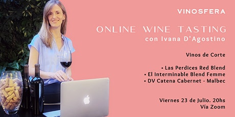 Online Wine Tasting. Vinos de Corte tickets