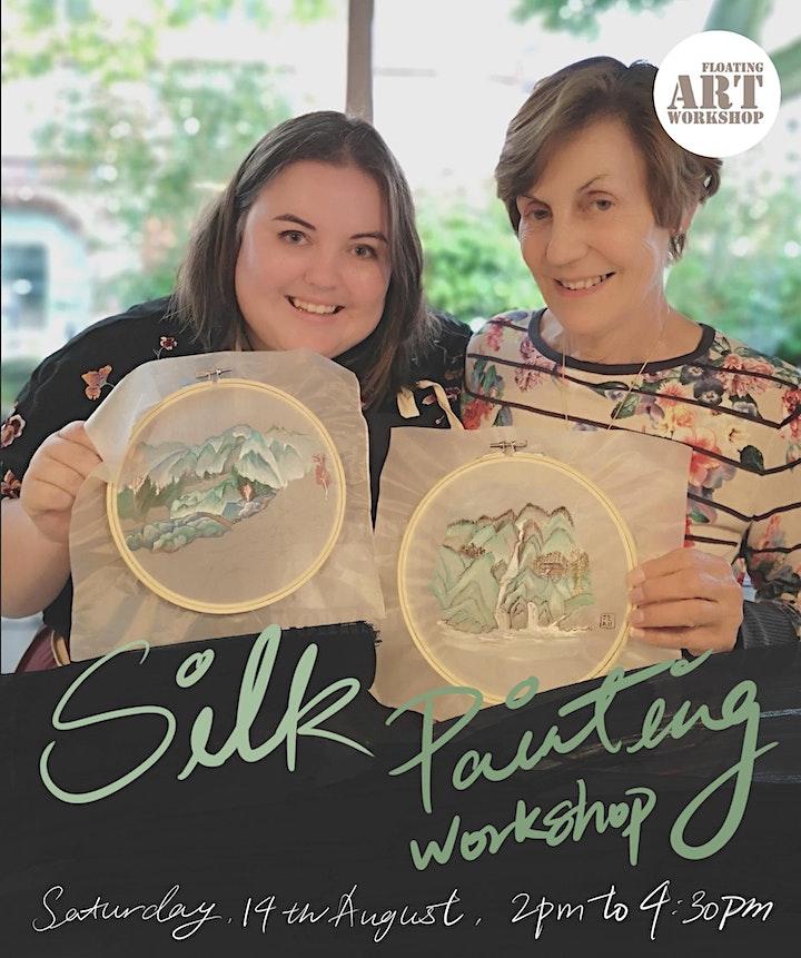 Silk Painting Workshop image