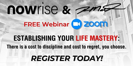 FREE Video Chat Panel:  Establishing Your Life Mastery tickets