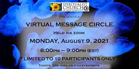SCNYC Virtual Message Circle  -  Revs. Jen L. & Terrence H. tickets