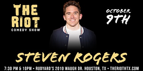 The Riot Comedy Show presents Steven Rogers tickets