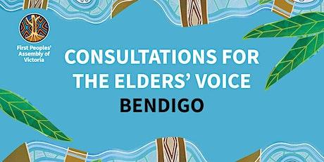 Elders' Voice Consultation — Bendigo tickets