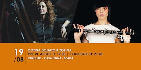 Cettina Donato & Zoe Pia biglietti