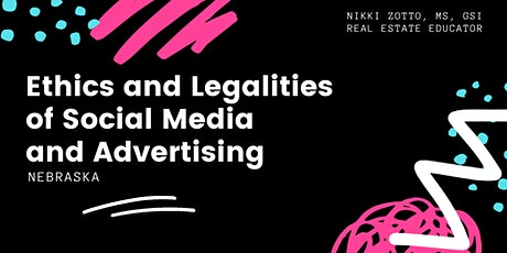 Ethics and Legalities of Social Media and Advertising (Livestream) tickets