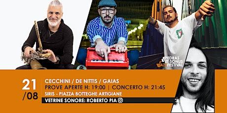 Cecchini/De Nittis/Gaias Feat Roberto Pia biglietti