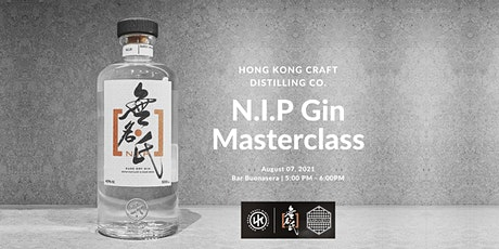 N.I.P 無名氏 Gin X Bar Buonasera Master Class tickets