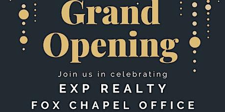 Pete & Dana Pavlik's new eXp Realty Branch Office tickets