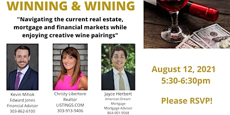 """WINNING & WINING:""""Navigating the current financial and real estate markets"""" tickets"""