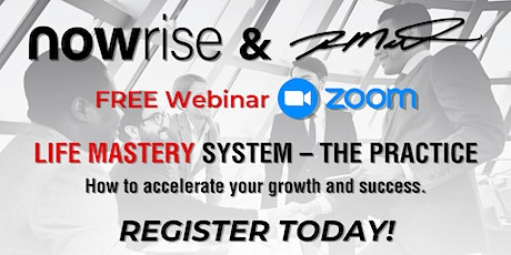 FREE Webinar:  Life Mastery System—The Practice Tickets