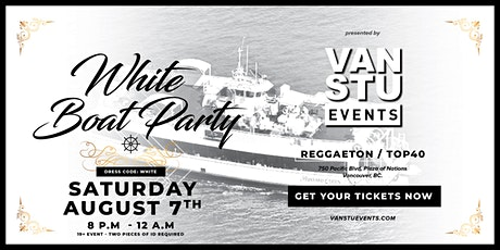 White Boat Party by Vancouver Student Events tickets