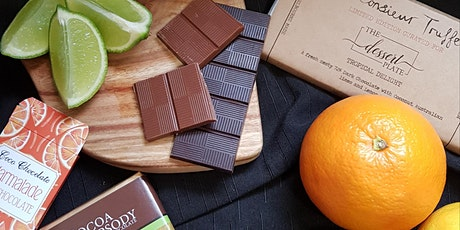 A virtual Chocolate Adventure featuring tangy Lemon, Lime & Orange flavours tickets