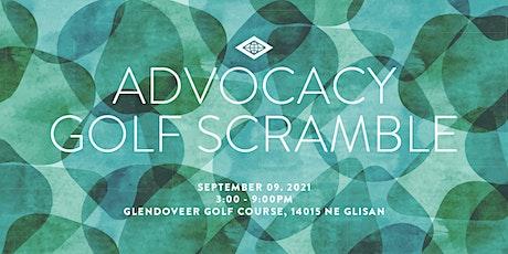 Advocacy  Golf Scramble tickets