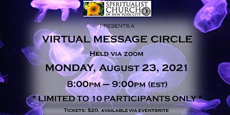 SCNYC Virtual Message Circle  -  Revs. Renee Rossi & Ana Schwartz tickets