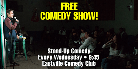 FREE Comedy Show @ Brooklyn's Only Comedy Club [Stand Up Comedy] tickets