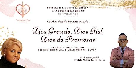"""""""Dios Grande, Dios Fiel, Dios de Promesas"""" tickets"""