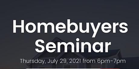 Homebuyers Seminar tickets