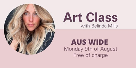 Live Lockdown Session  Art Class with Belinda Mills tickets