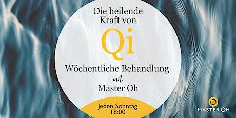 Die heilende Kraft des Qi: Wöchentliche Behandlung mit Meister Oh tickets