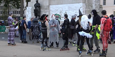 Roll with the dead. 2021 Halloween skate tickets