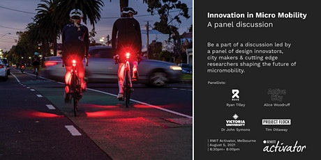Innovation in Micromobility | Panel Discussion |Melbourne tickets