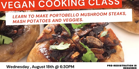 Learn to Cook VEGAN - 101 Introduction Class tickets