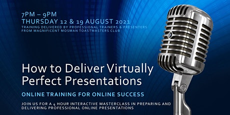 How to Deliver Virtually Perfect Presentations tickets