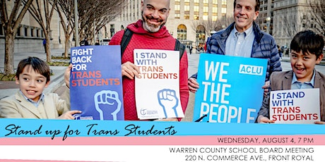 Stand up for Trans Students tickets