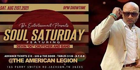 Soul Saturday/Devin Crutcher & Band tickets