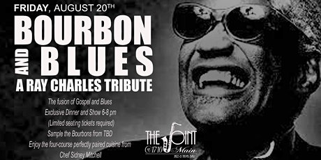 Bourbon and Blues - A Ray Charles Tribute tickets