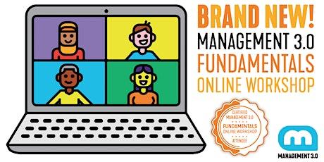 Management 3.0 Fundamentals Online Workshop Tickets