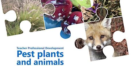 ONLINE Teacher PD Term Three - Pest plants and animals tickets