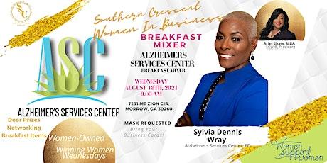 Breakfast Mixer: Meet member Sylvia of The Alzheimer's Services Center! tickets