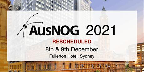 AusNOG 2021 tickets